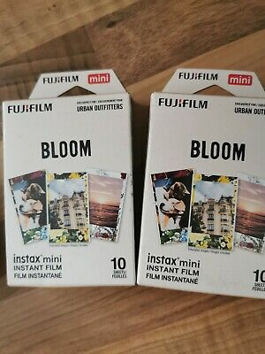 10 Shots Fuji Instax Mini Film for Fujifilm Mini 8 7 9 & Mini 90, 50 Cameras etc