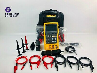 Fluke 754 Documenting Process Calibrator HART FLAWLESS Condition w/ Accessories