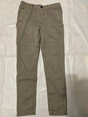 """ALL SAINTS MEN/'S INK NAVY BLUE /""""VOLT LUMEN/"""" CHINOS TROUSERS PANTS 28/"""" NEW TAGS"""