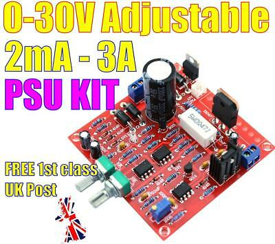 Hiland 0-30V 2mA-3A Continuously Adjustable DC Regulated Power Supply DIY Kit