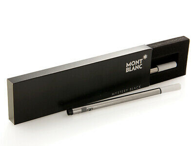 Montblanc Fineliner Pen Mystery Black Color Broad Size Refill