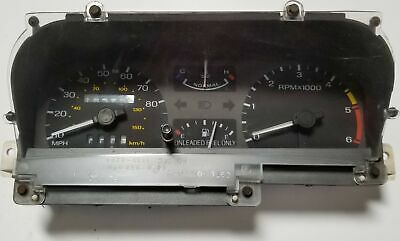 1986 LINCOLN MARK VII Instrument Gauge Cluster Speedometer Gauges