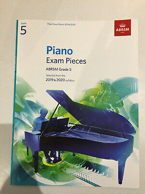 ABRSM Piano Exam Pieces 2019 2020 Syllabus Grade 5 Sheet Music Book Tests Songs