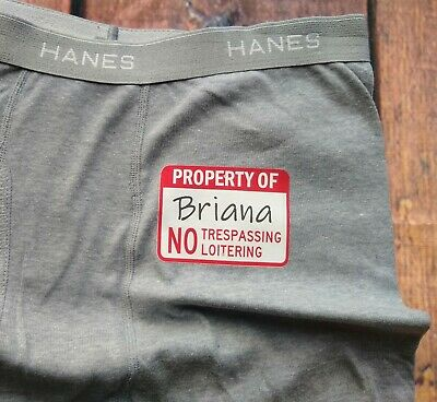 Birthday Gag Gift For Him Husband Anniversary Gift Personalized Men/'s Boxer Brief Underwear For Valentine/'s Day Crude Humor Adult Gift