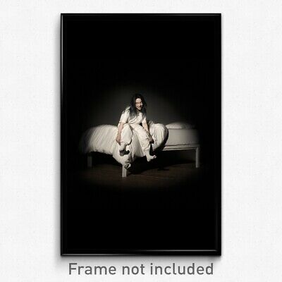 Billie Eilish When We All Fall Asleep Where Do We Go Album Poster 24 27x27i F-51