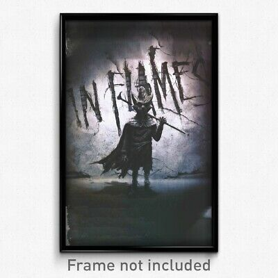 In Flames - I the Mask 11x17 Print Band Album Poster