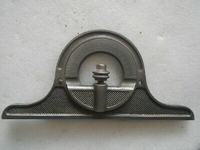 Vintage Starrett Combination Square Protractor Head No. 12 for parts
