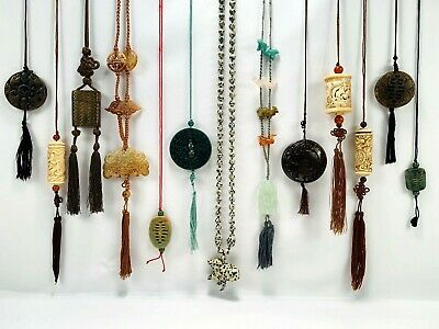 Estate Jewelry Collection Necklaces  Oriental Far East Asian Handmade