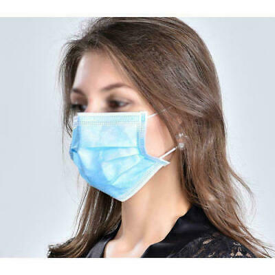 Face Masks Anti Dust Bacteria Flu Virus Travel Mouth Mask 3 Ply form fit design