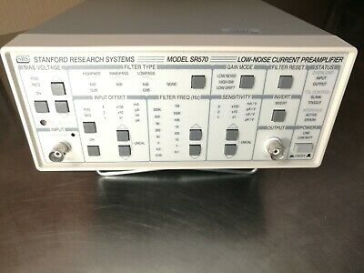 SRS Stanford Research Systems Model SR570 Low-Noise Current Preamplifier
