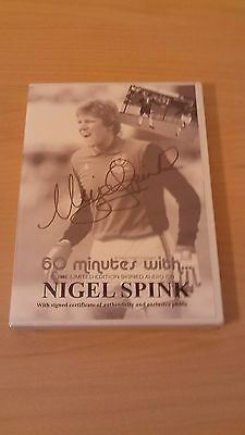 Footballer Nigel Spink Ltd Edition Signed Audio Cd 1000 Sets Worldwide Euro Cham