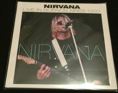 NEW SEALED Nirvana Live in Buenos Aires 1992 Vinyl Record LP RARE