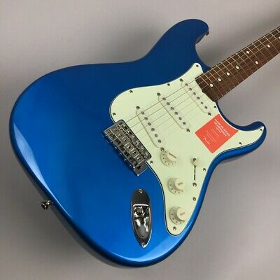 Fender: MADE IN JAPAN TRADITIONAL 60S STRATOCASTER CAB Candy Blue