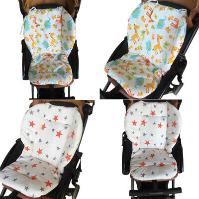 Kids Baby Stroller Pram Car Seat Cushion Pad Liner Head Body Support Pillow Mat