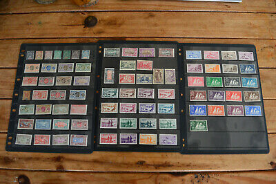 Collection from French colony St Pierre & Miquelon on 4 pages