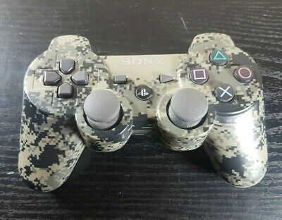 PS3 Sony PlayStation 3 Camo Dualshock 3 Sixaxis Controller CECHZC2U Official