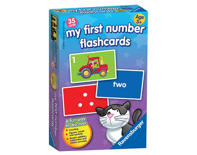 Kids Flash Cards My First Numbers Ravensburger Childrens Educational Game