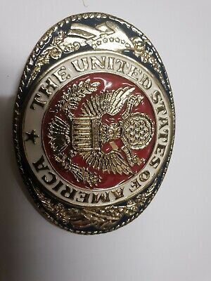 United States Of America  Belt Buckle In Vgc
