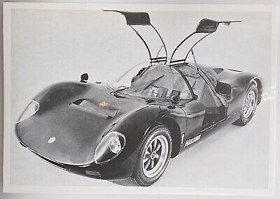 Vintage Photo Card - Nissan R 380 Mark Ii 2 Liter - Japanese Sports Cars