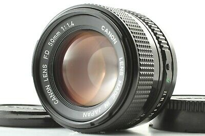 【 MINT+++ 】 Canon New FD 50mm f/1.4 NFD MF Standard Prime Lens From JAPAN #860