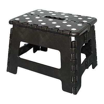 Folding Foot Step Stool Multi Purpose Plastic Foldable Easy Storage Home Kitchen