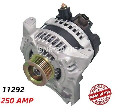 250 AMP 11292 Alternator Ford Lincoln High Output Performance HD NEW USA