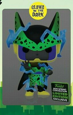 Funko ECCC 2020 Dragonball Z GITD Perfect Cell Shared Exclusive Preorder