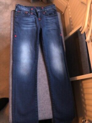 True Religion Boys Designer Blue Jeans Age 10 -12