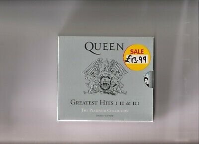 Queen Greatest Hits I II & III  (3 Cds with booklet )