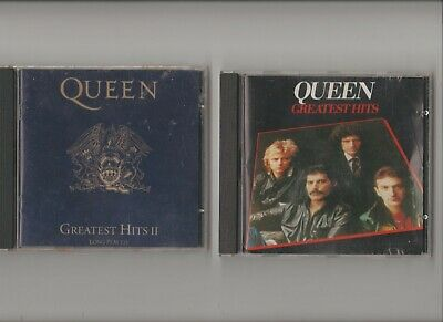 Queen : Greatest Hits I and II /  TWO CD Albums