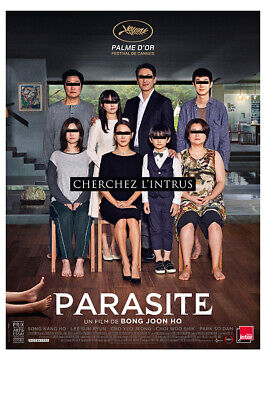 repro PARASITE 27x40 LIGHT BOX DS Poster Gisaengchung Korean movie CANNES Oscars