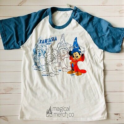 2020 Disney Parks Ink And Paint Sorcerer Mickey Fantasia Shirt XL