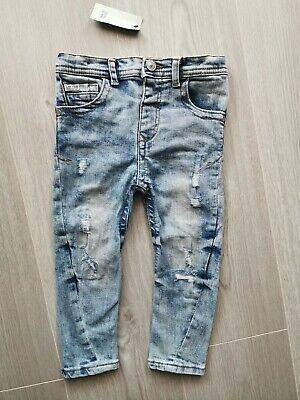 Boys river island skinny jeans 2-3 years