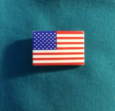 US USA Flag United State 4th of July Patriotic Croc Hole Accessories Shoe Charm