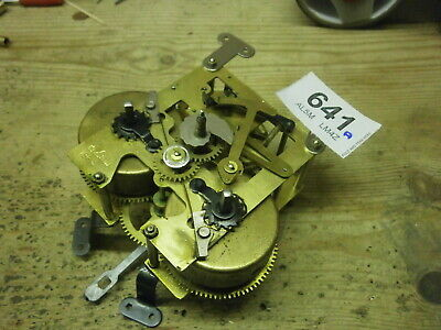 CLOCK MOVEMENT Foreign 8 Day wall mantle parts spares pendulum leader 641A