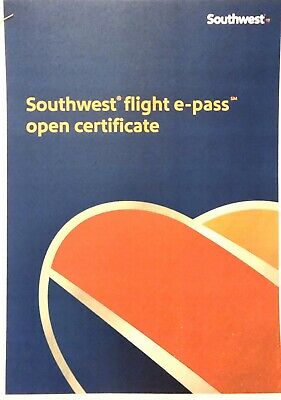 Southwest Airlines International E-pass One Way Trip ~ 4 Available (2 Roundtrip)