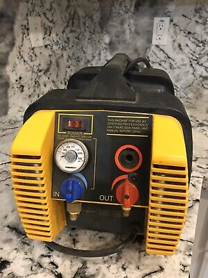Appion G5 Twin Refrigerant Recovery Unit Miss Reading Meter
