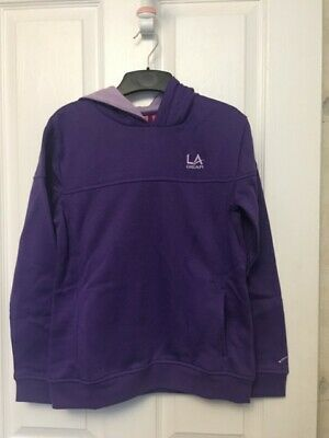 Bnwt Girls Stunning La Gear Purple Over The Head Hoodie