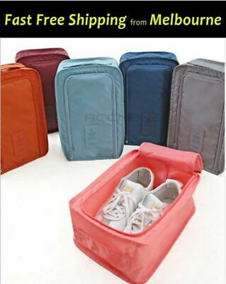New Travel Shoes Pouches Organizer Waterproof Portable Foldable Shoe Box