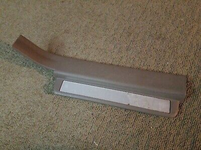 Used OEM 03-07 Nissan Murano SL RR Foot Step Scuff Plate Panel Trim - Tan Beige