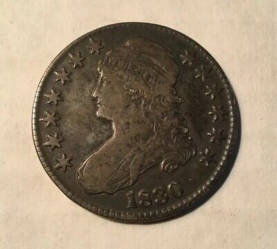 1830 Capped Bust Silver Half Dollar * United States Coin