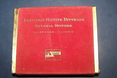 Electro-Motive Division General Motors double deck playing cards and box