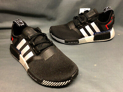 Big Kids/' adidas NMD R1 Casual Shoes Core Black//Core Black//Orchid Tint CG6245 BL