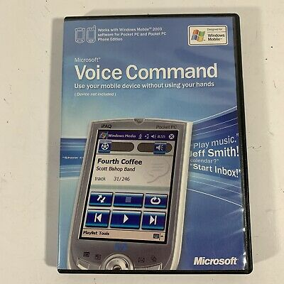 Microsoft Voice Command for Pocket PC & Pocket PC Phone Edition (X0964848)