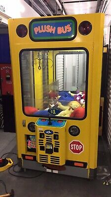 """42"""" ICE Plush Bus Crane Claw Machine Arcade Game #3! Shipping Available!"""