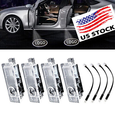 4*LED Courtesy Light Car Door Ghost Shadow Laser Lamp Decoration for BMW Series