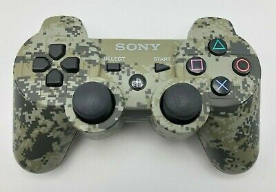 Official PS3 Sony PlayStation 3 Camo Dualshock 3 Sixaxis Controller CECHZC2U