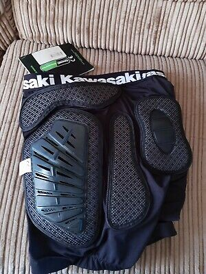 Genuine Kawasaki MX Protector Shorts 32-34 CE approved Team Green Merchandise