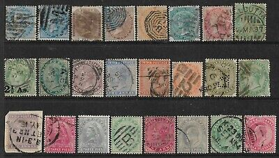 INDIA Interesting Early Mint and Used Issues Selection - Very Nice! (Mar 027)