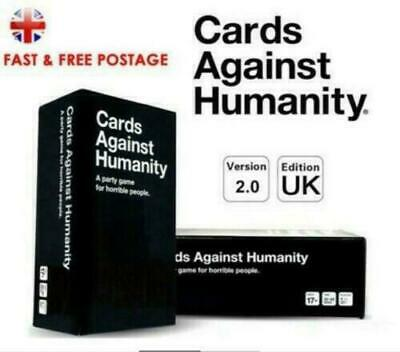 Cards Against Humanity UK V2.0 Edition Brand New Sealed 600 CARDS FAST UK SHIP